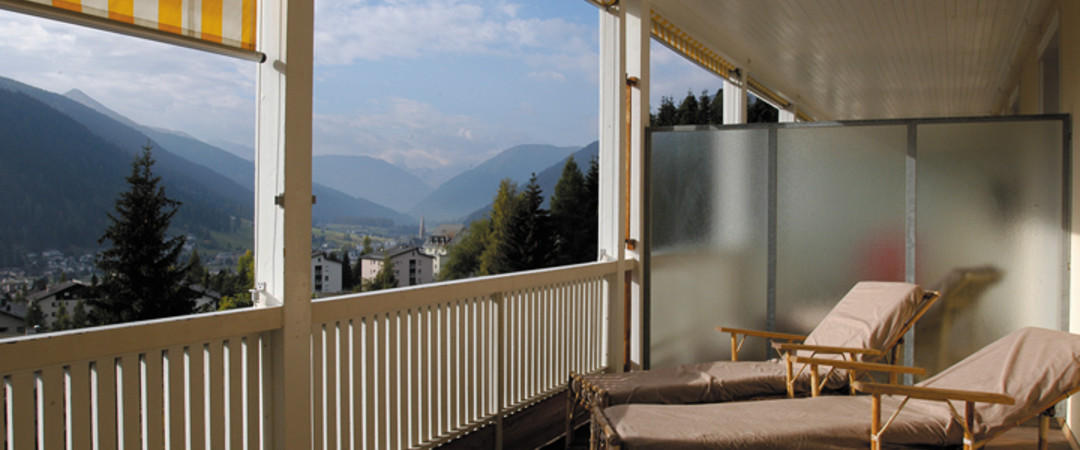 Stay in a former sanatorium in Switzerland and let the mountains bring you to your senses.