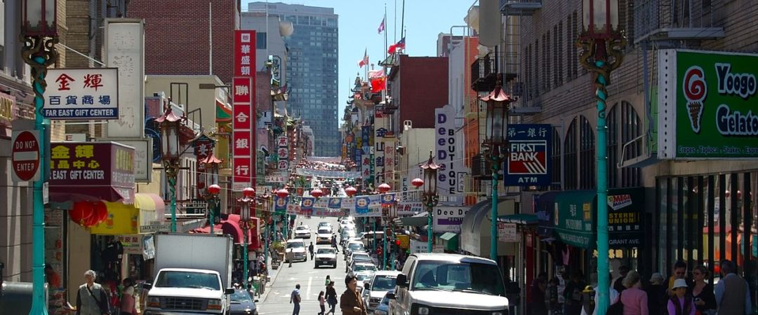 San Francisco is home to the largest Chinatown outside of Asia – snapping a photo in front of its iconic entrance gate is a must!