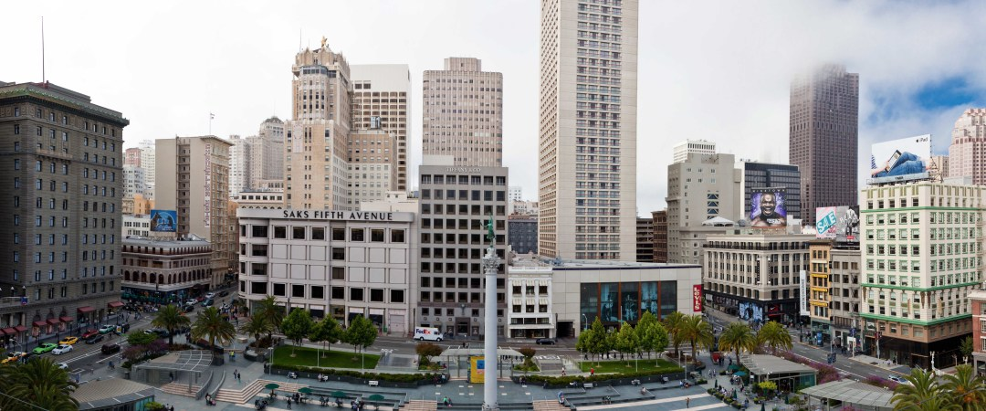 Experience San Francisco's iconic mode of transport; take a cable car ride around Union Square and absorb the city's cultural vibe.