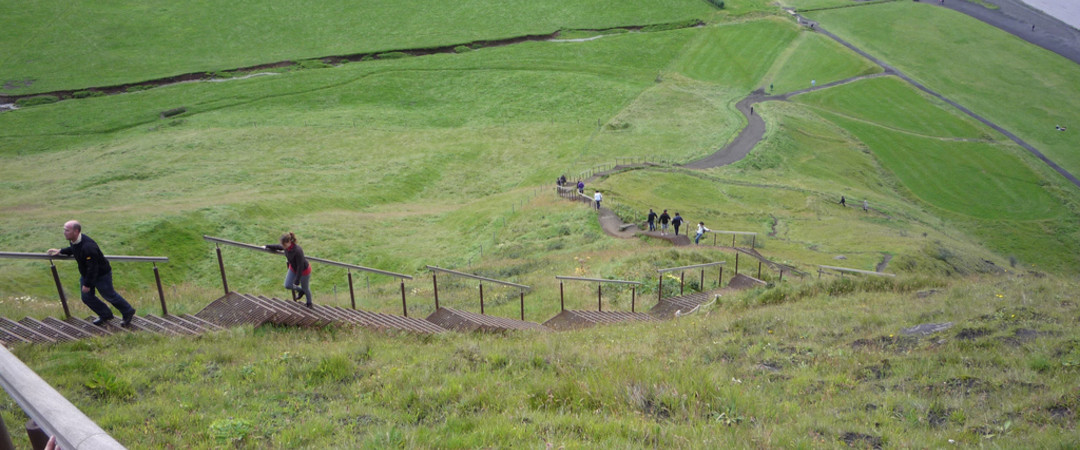 Skógar offers some of the most beautiful hikes in Iceland where you can explore the breathtaking surroundings.