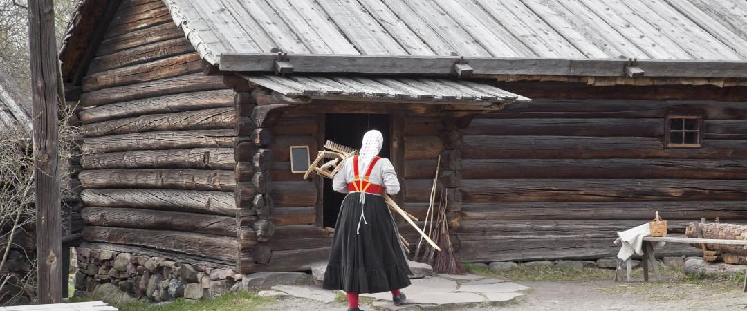 Encuentre el verdadero sentido de historia sueca en el primer museo al aire libre del mundo, el Skansen.