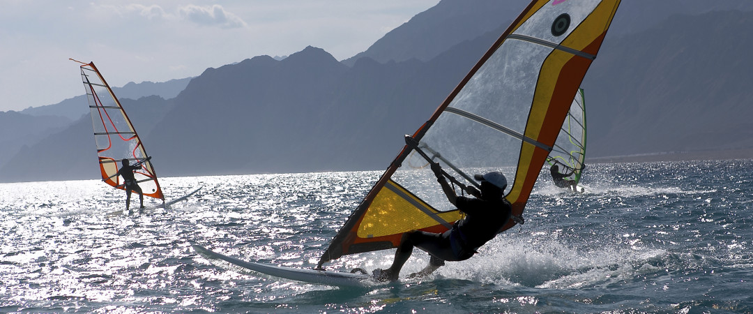 Whether you are a beginner or a professional, be adventurous with windsurfing in Galway.