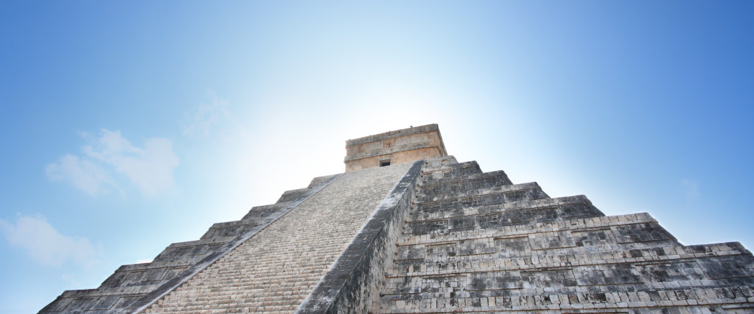 Take a day trip to the mysterious and spectacular Mayan ruins and see the pyramid of ancient city, Chichen Itza.