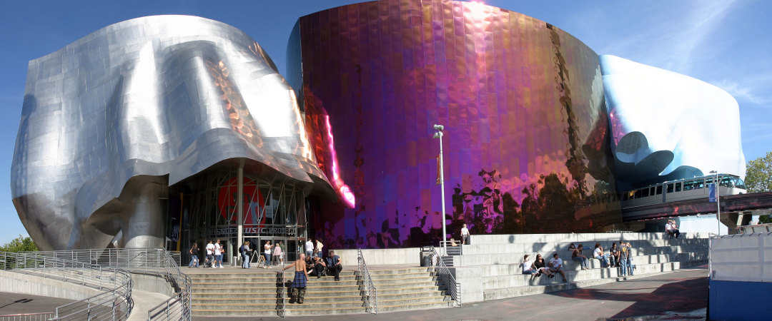 Are you a music lover? Then check out the exhibits at Experience Music Project Museum, it's one of a kind.