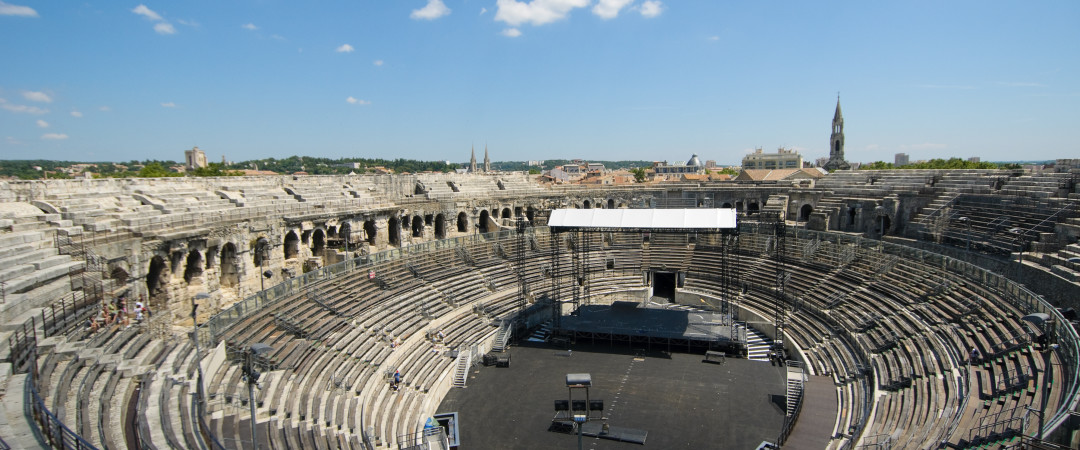 Find out about Roman civilisation with a trip around the historic Arena of Nîmes - still used for bullfighting twice a year.
