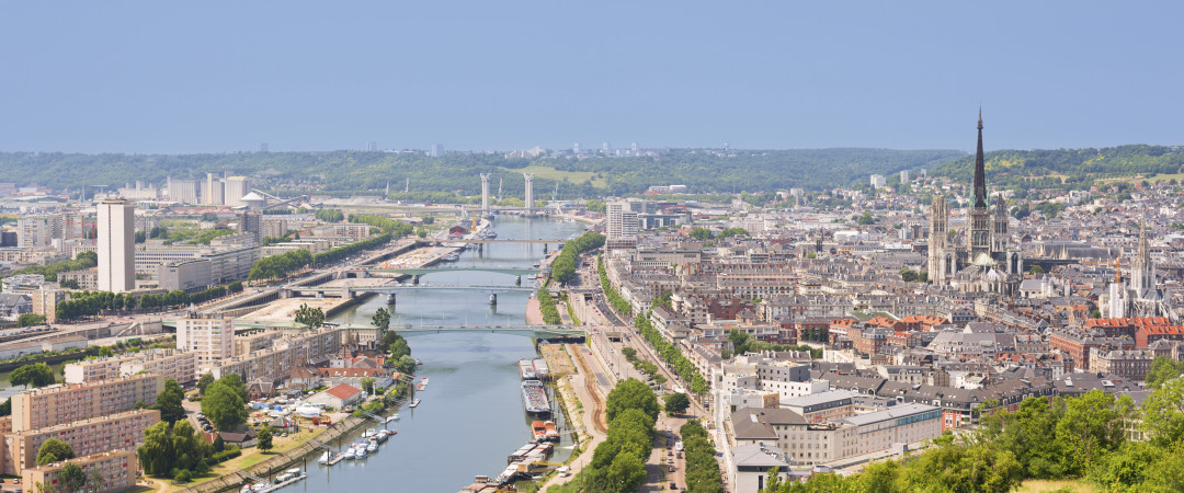 Discover the monumental Cathedral of Notre Dame when you stay in Normandy's capital, Rouen - the City of a Hundred Spires.