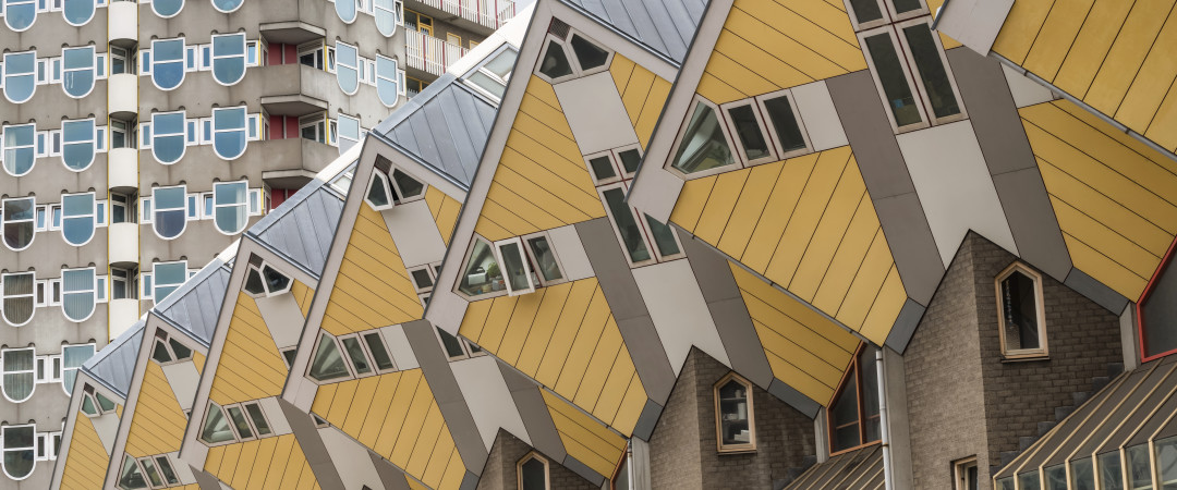 Don't be a square! Our hostel is actually one of the amazing cube houses right near Rotterdam's historic centre. And they welcome groups!