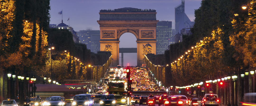 You're only a few Metro stops away from all of the most spectacular sights in Paris, including the iconic Arc de Triomphe.