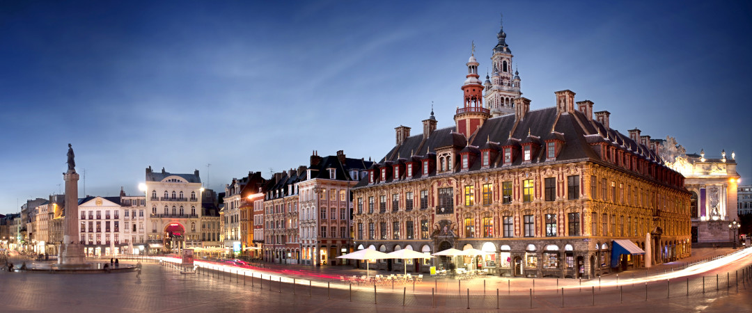 This central hostel is the perfect starting place to see the sights, with the Grand Place and Lille Cathedral both right around the corner.