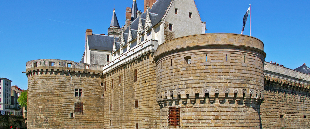 Just a short walk from the hostel in the historical heart of Nantes' is the city's main attraction, the Château des ducs de Bretagne.
