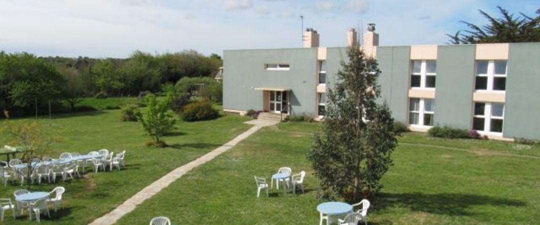 França - Células solares em Belle Ile Youth Hostel