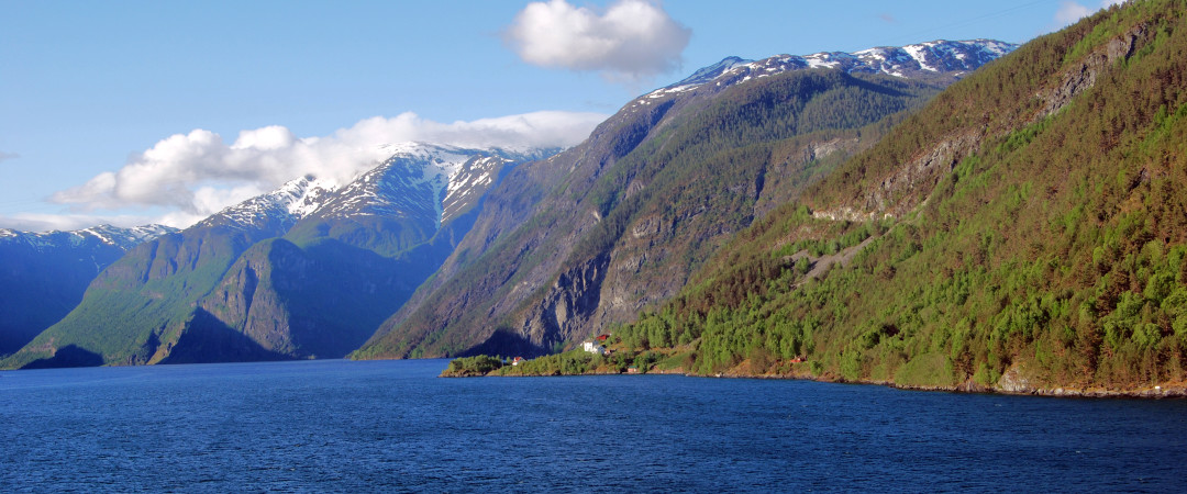Come to Flam for the long, winding and breath-taking Sognefjord fjord that can be seen from the famous Flam railway line.