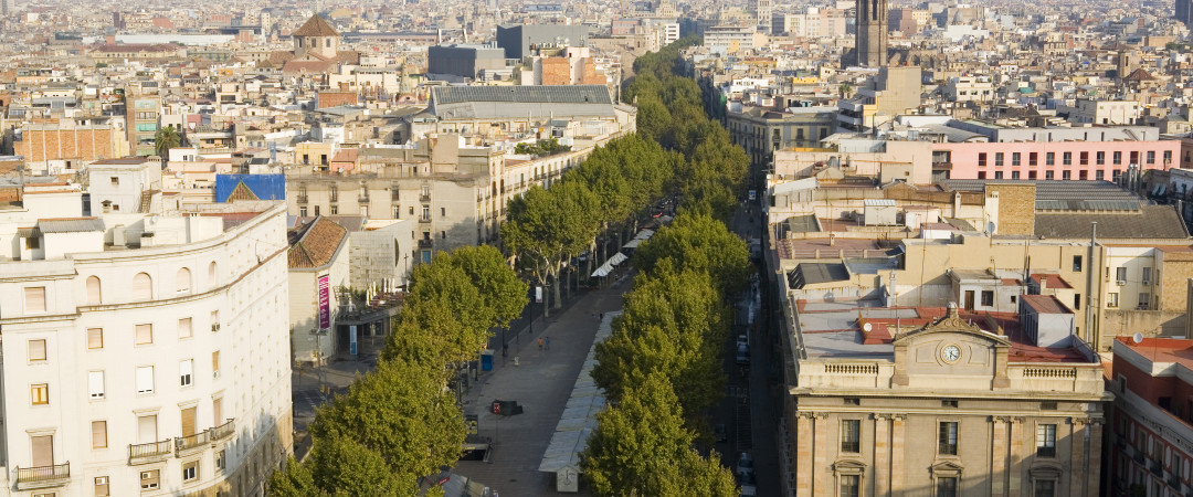 Las Ramblas is the place to be in Barcelona, don't miss out!