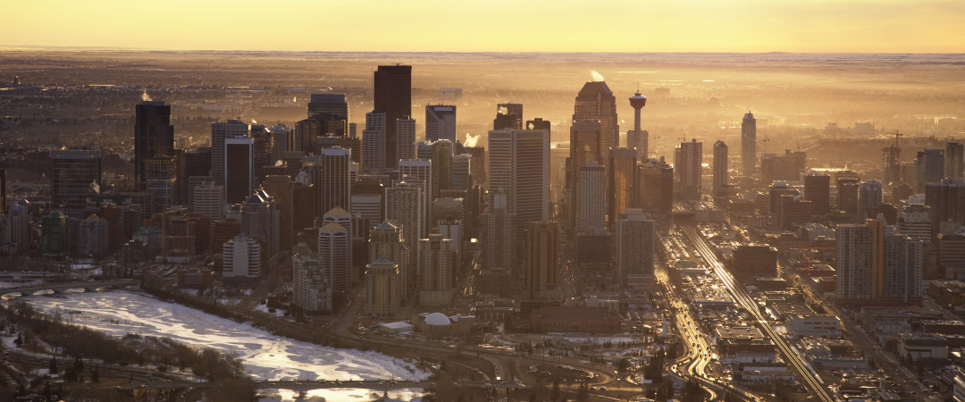 Start your adventure in the air and experience a panoramic view of the city from the Calgary Tower.