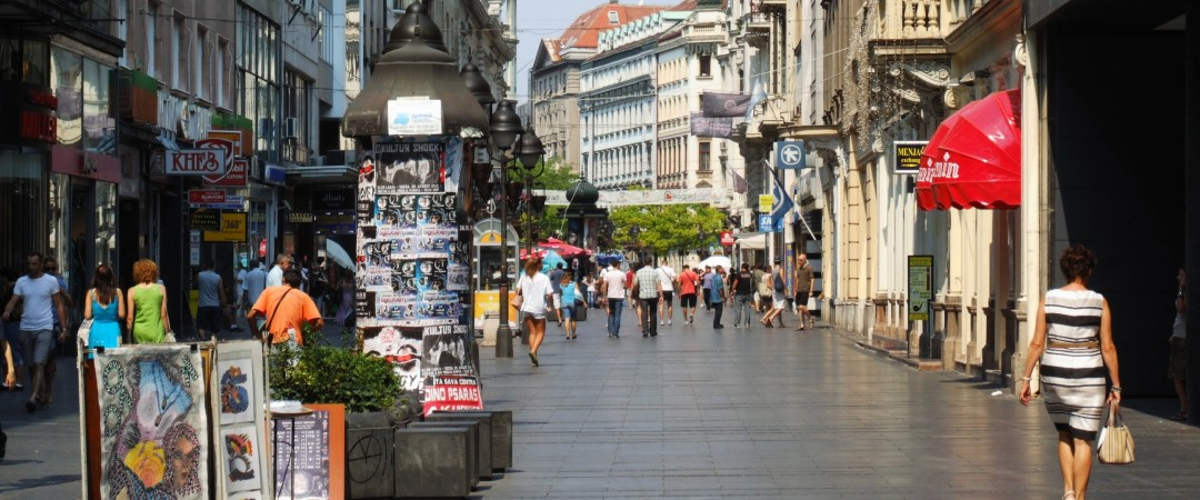 Grab a bite to eat and browse through the shops at Knez Mihailova Street, located just a short walk from the hostel.