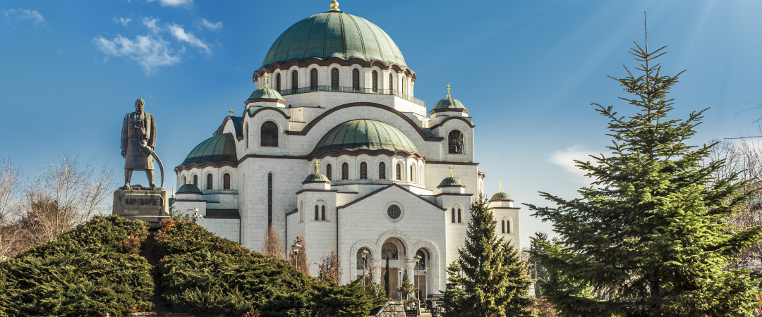 Visit the temple of Saint Sava, the largest Serbian Orthodox Church and be intrigued by its dominance and beauty.
