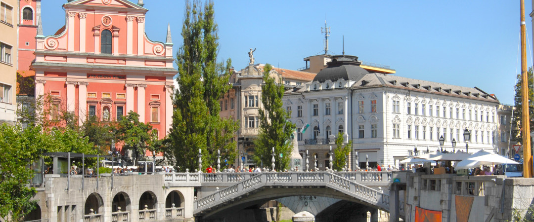 Just a short walk from the hostel, discover the historical heritage of Ljubljana's city centre and the richness of its architecture.