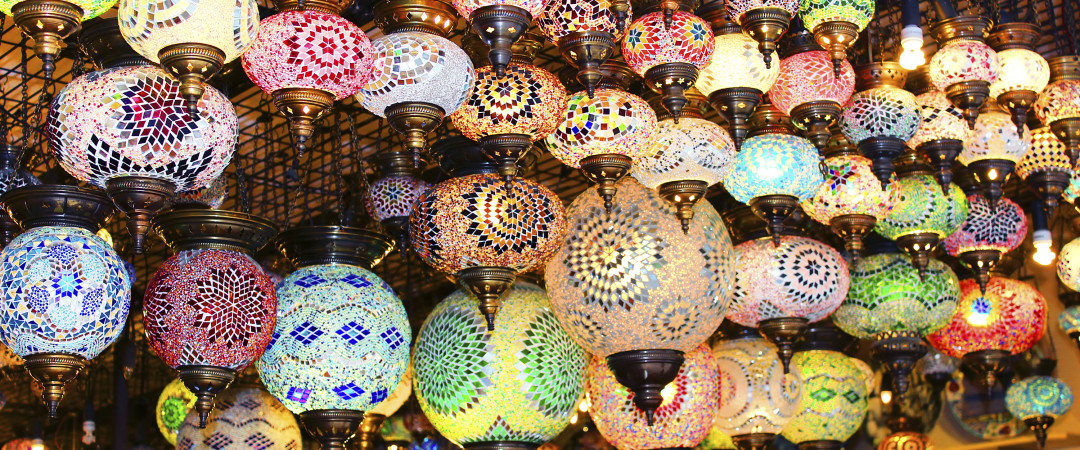 From exotic spices to oriental lamps, wandering the stands of Istanbul's Grand Bazzar is a magical experience.