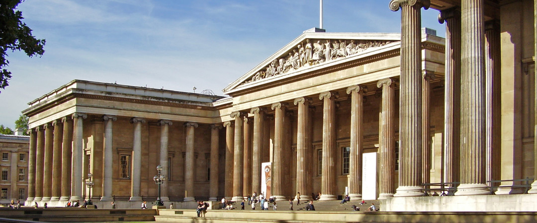 The British Museum is bursting with fascinating exhibits and artifacts including the world-famous Rosetta Stone.