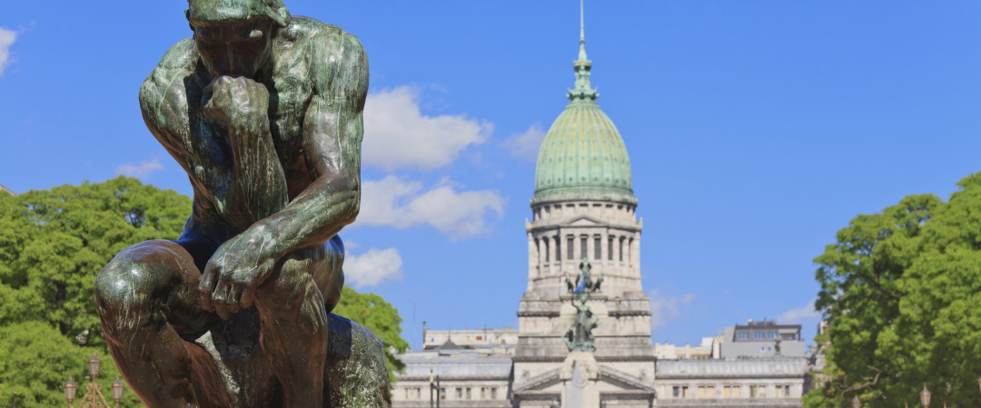 Buenos Aires is great for a stroll. Admire Rodin's The Thinker, see the picturesque Plaza de Congresso and take in the cool architecture.