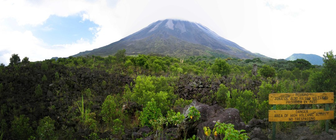 Take a trip to Arenal Volcano National Park to see the angry and active Arenal Volcano.