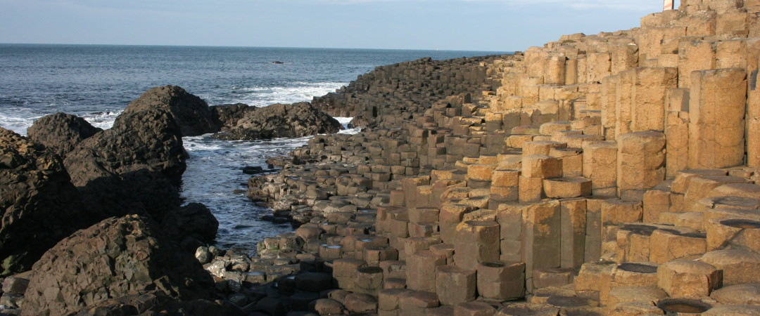 Visit the Giant's Causeway, a geological wonder, and discover where its name comes from.