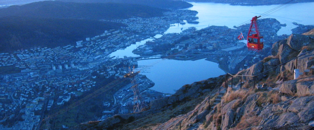 You haven't really experienced Bergen until you've been up Mount Ulriken!