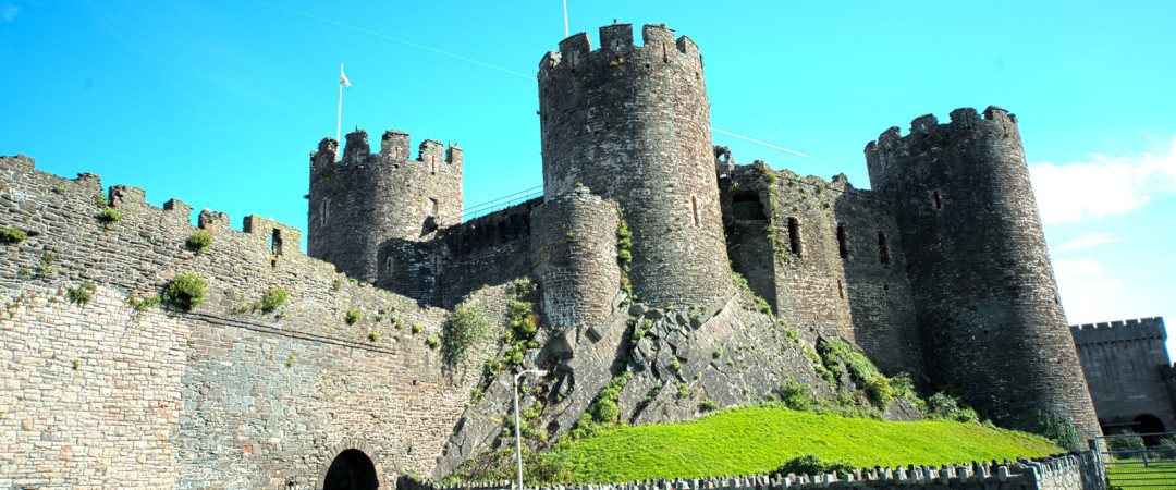 Wales is the castle capital of Europe and what better place to start than Conwy Castle which is just a short walk from the hostel.