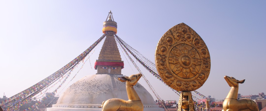 The Boudhanath in Kathmandu is the holiest Buddhist sites in Nepal as well as one of the city's main and most recognisable attractions.