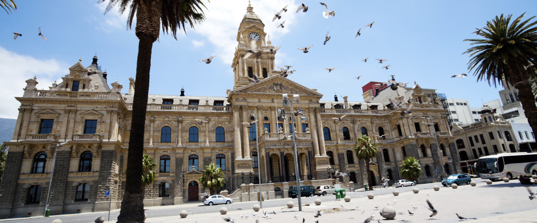 See one of Cape Town's historic buildings, known as Cape Town's City Hall which was built in 1905.