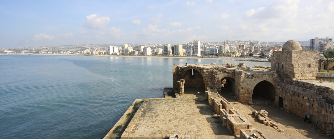 Discover Sidon Sea Castle, built during the 13th century by Crusaders.
