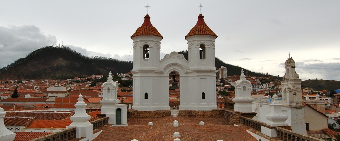 Climb to the top of Convent of San Felipe Neri and admire the spectacular views overlooking the hills of Sucre.