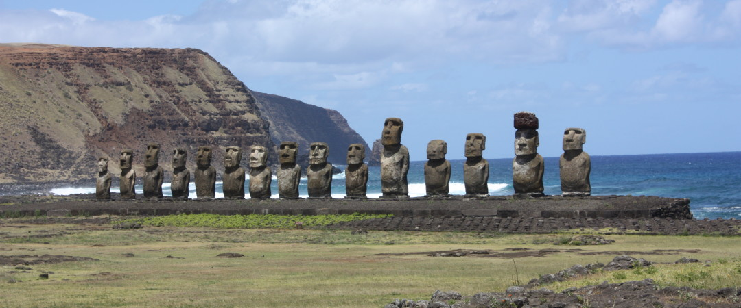 Enjoy Easter Island's beautiful beaches and see the fascinating ancient ruins of the island.