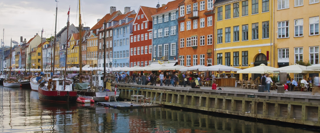 Meander through the Nyhavn area of Copenhagen, admiring the colourful townhouses and boats while sampling the bars, cafes and restaurants.