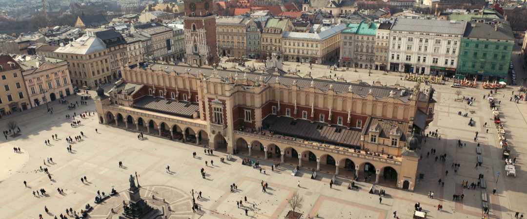 Right next to our hostel, Krakow's Market Square is a great place to people watch and soak up history over a coffee or some Polish vodka.
