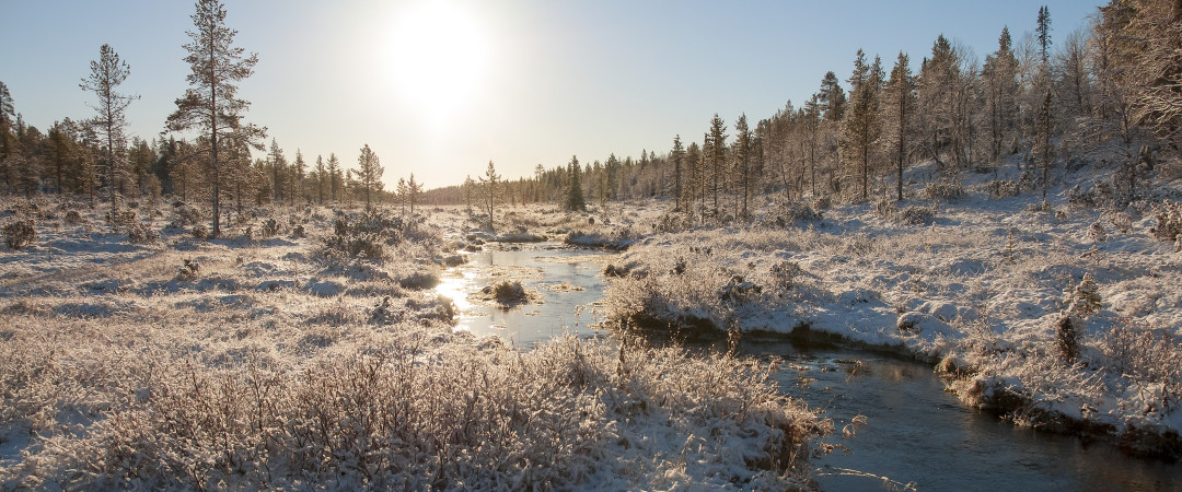 Lapland offers the outdoor enthusiast plenty of options - it's not all sledding and snowball fights!