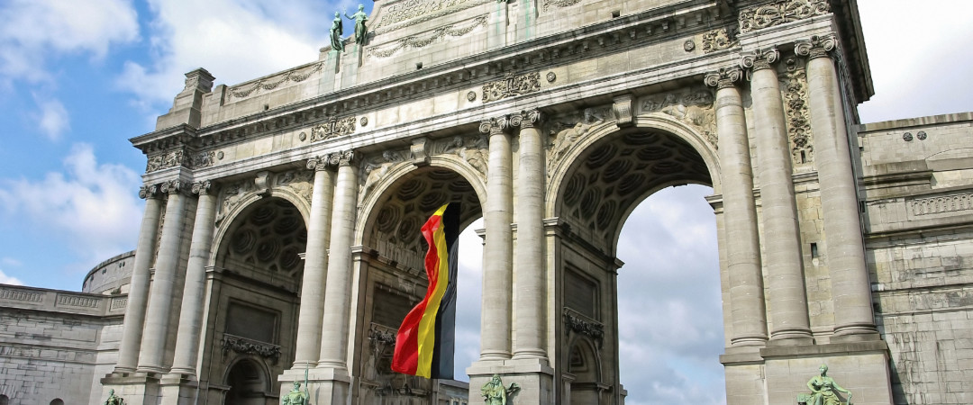 Visit the impressive Triumphal Arch in Brussels and explore the nearby military museum.