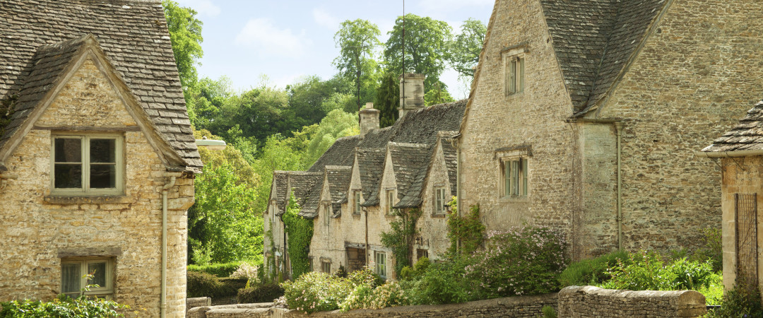 The Cotswolds is full of charming villages and is designated as an Area of Outstanding Natural Beauty.