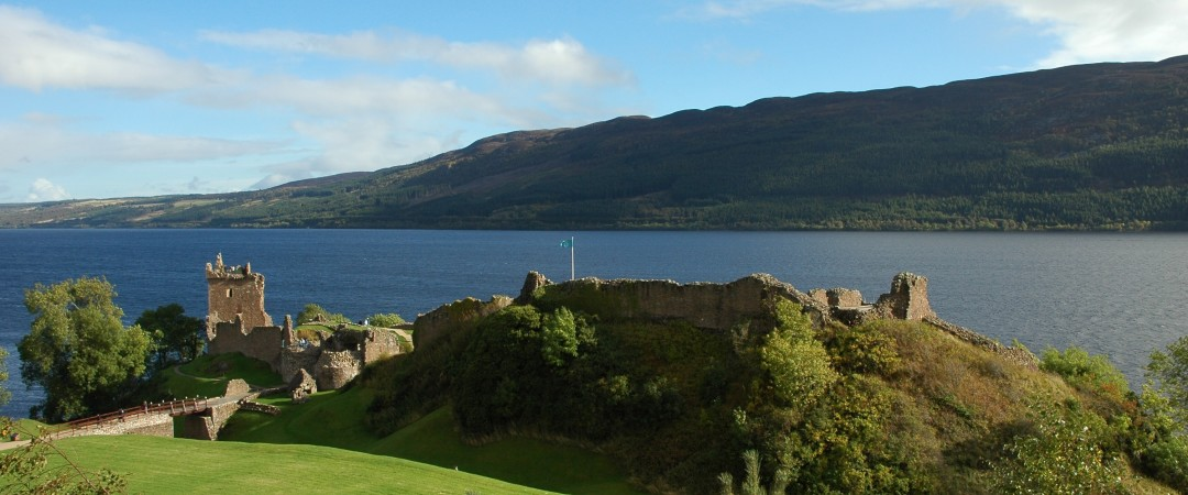 Visit the ruins of Urquhart Castle before scanning the water for the infamous Loch Ness Monster!