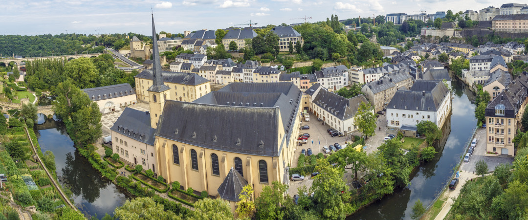 Luxembourg City is surrounded by greenery - you'll always be able to retreat into natural surroundings here.