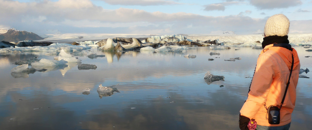 Visit the incredible Jökulsárlón, the deepest lake in Iceland. A few James Bond films have been shot at this icy wonder.