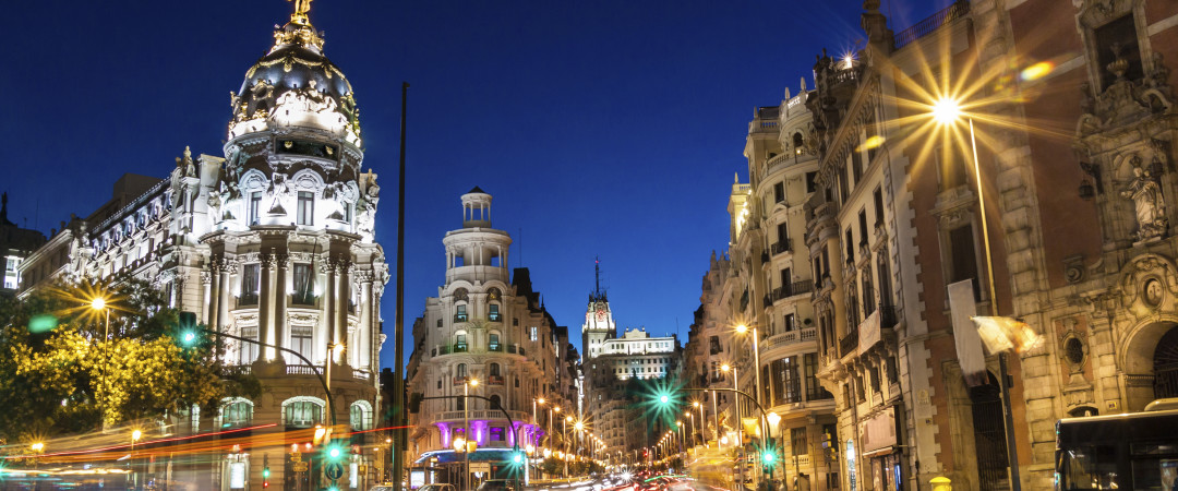 Stay in a city centre hostel and spend your days visiting infamous sights such as the Royal Palace, Madrid Cathedral and Plaza Mayor.