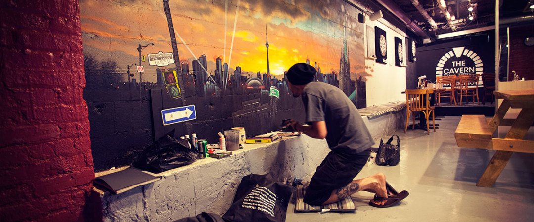 #SleepForPeace in Canada: get together and create something special in Toronto, with collaborative art & pub crawls.