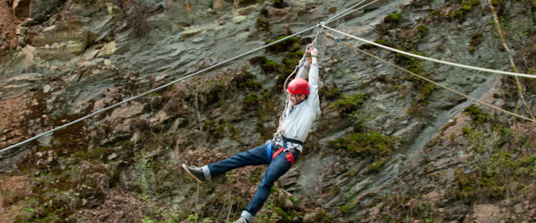 Les sports extrêmes se trouvent aussi à Bouillon, en Ardenne !