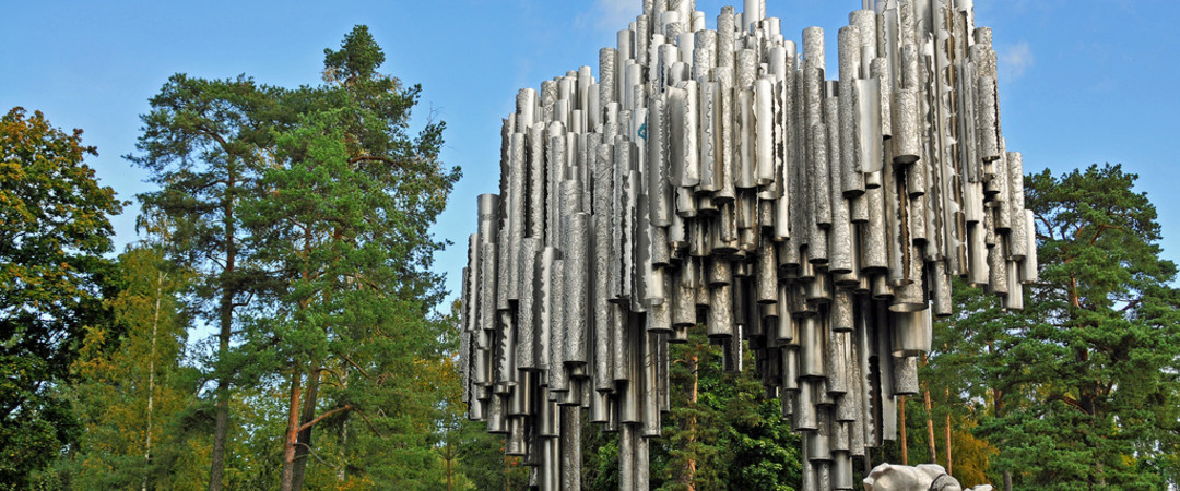 The Sibelius Monument is just one of Helsinki's artistic assets.