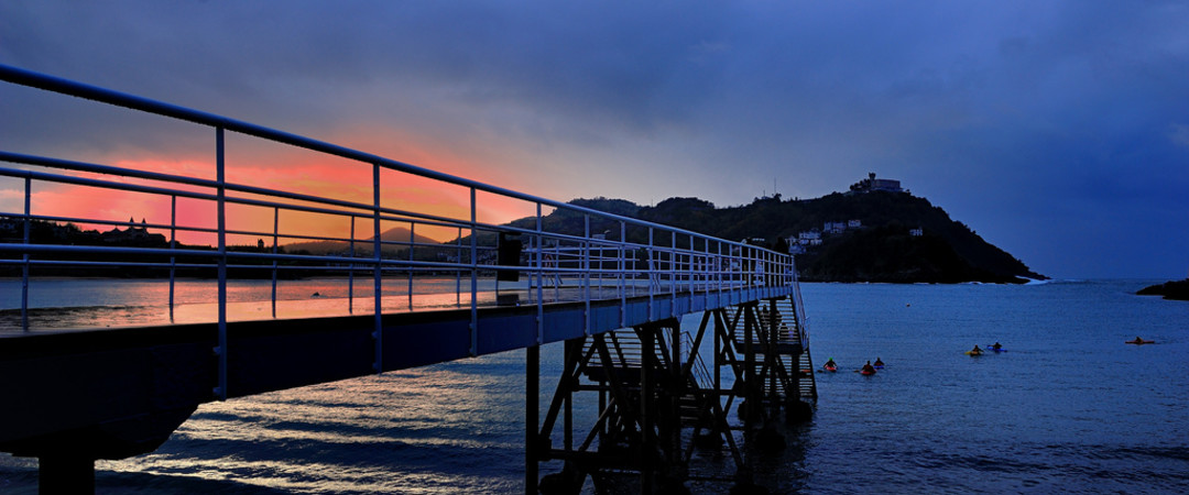 Visit Donostia, where the mountains meet the sea, described as one of the most beautiful coastal cities in the world.