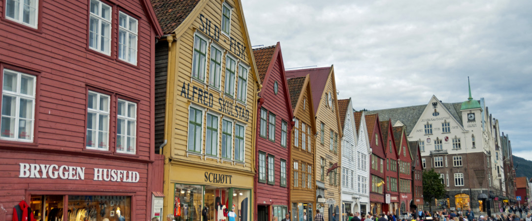 The city of Bergen is surrounded by beauty and history. With the Unesco World Heritage–listed Bryggen at the heart, amongst 7 awe-inspiring fjords