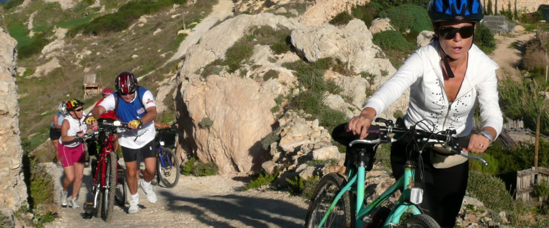 Cycle your way around Malta on your next group trip.