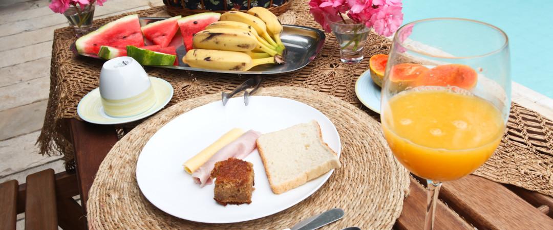 O hostel do Rio, no Brasil, entende de café da manhã.