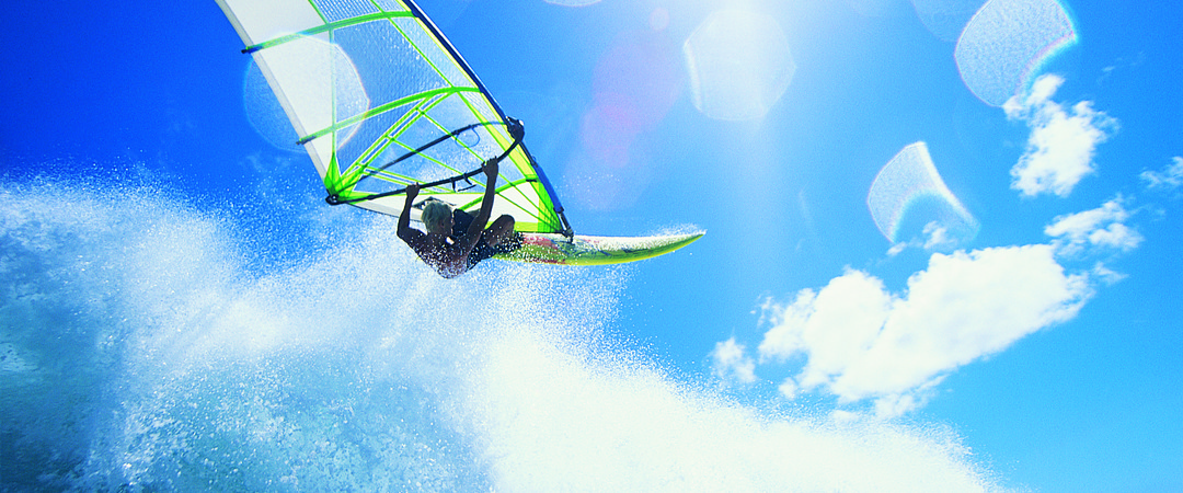 Windsurf among the champions and put your skills to the test at Italy's Lago di Garda